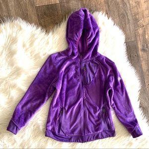 Snozu Fleece Zip Up Sweater Hoodie